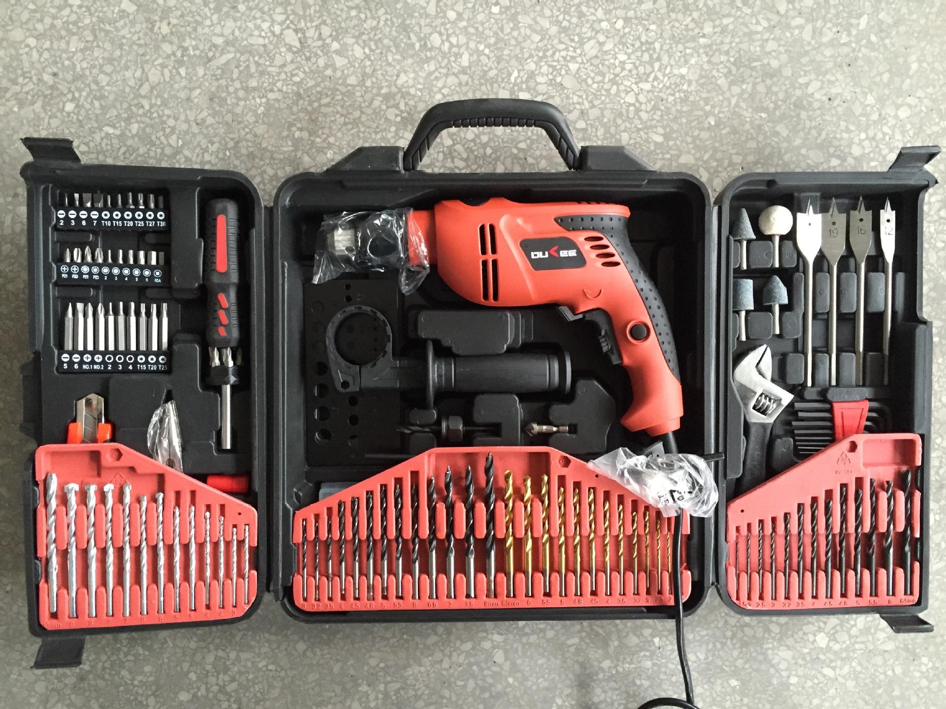 五金工具组套供应 132件组合工具 电动工具组合(图)