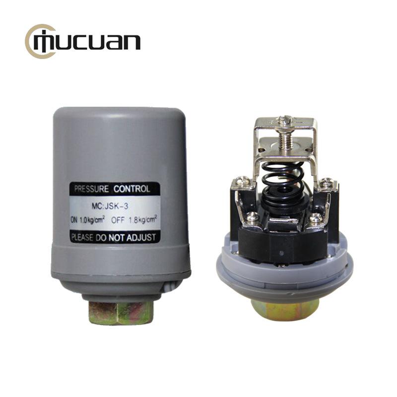批发】木川单触点 银点全自动水泵压力开关 压力控制器