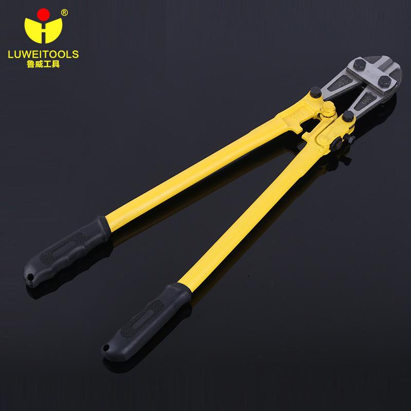 厂家直销鲁威T8锰钢大力剪 手动电缆重型钢丝钳省力欧式断线钳