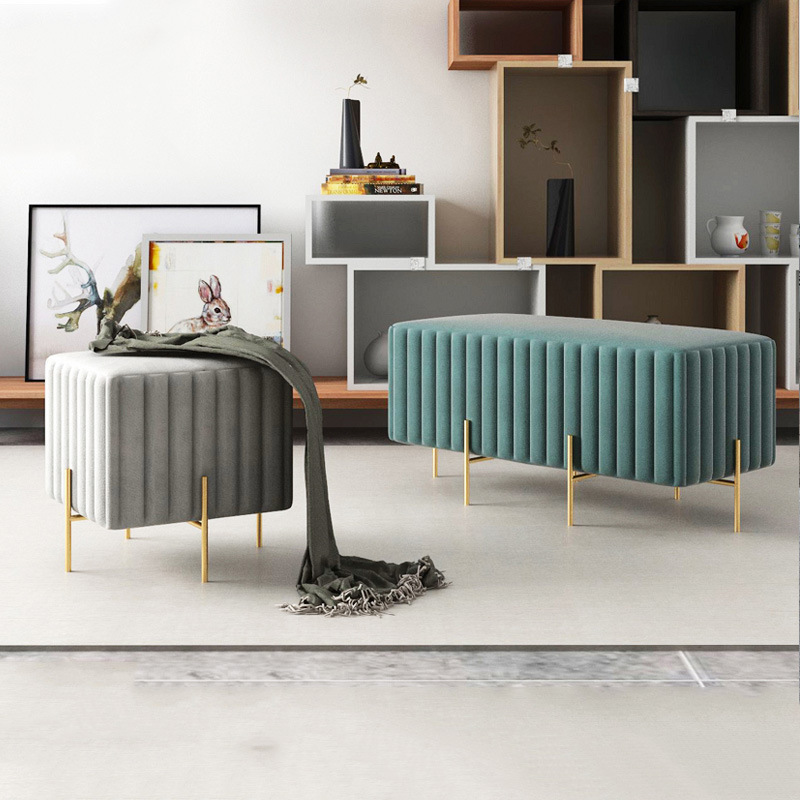 现代简约创意布艺沙发椅服装店休闲沙发组合大厅会客招待沙发