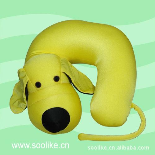 专业10年厂家 供应卡通U形枕 动物形粒子填充U型枕