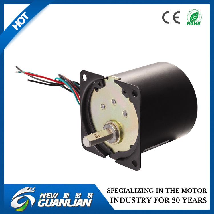 新冠联 厂家直销 60TYD-A永磁同步电机 应用于电动转盘、电动餐桌