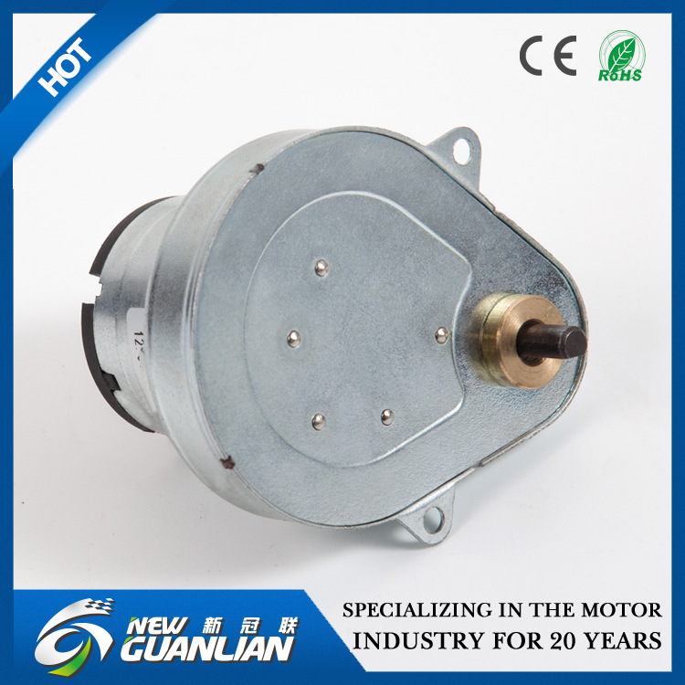 新冠联 厂家直销 L6651zljs-2A直流减速电机 微型电机 宠物喂养
