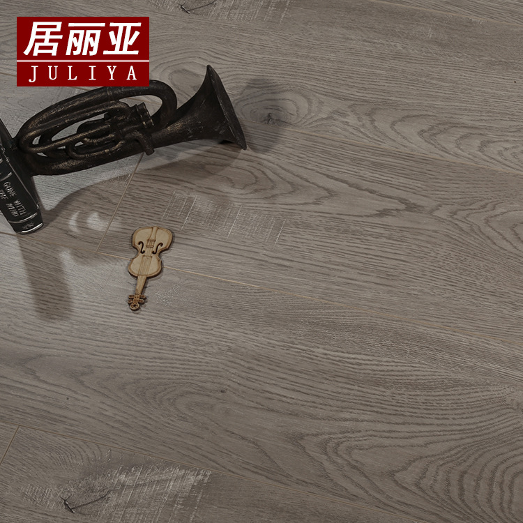 15mm三层实木复合木地板E0强化面松木原木家用防水环保地暖