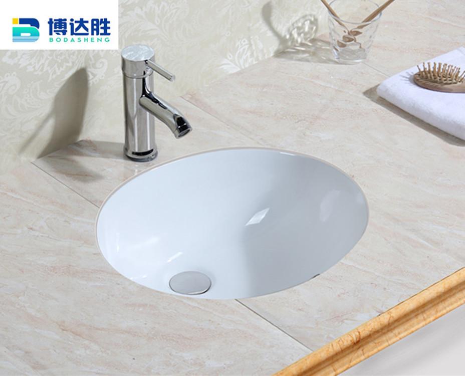 大理石洗衣圆形台下盆潮州陶瓷厕所批量生产工程款
