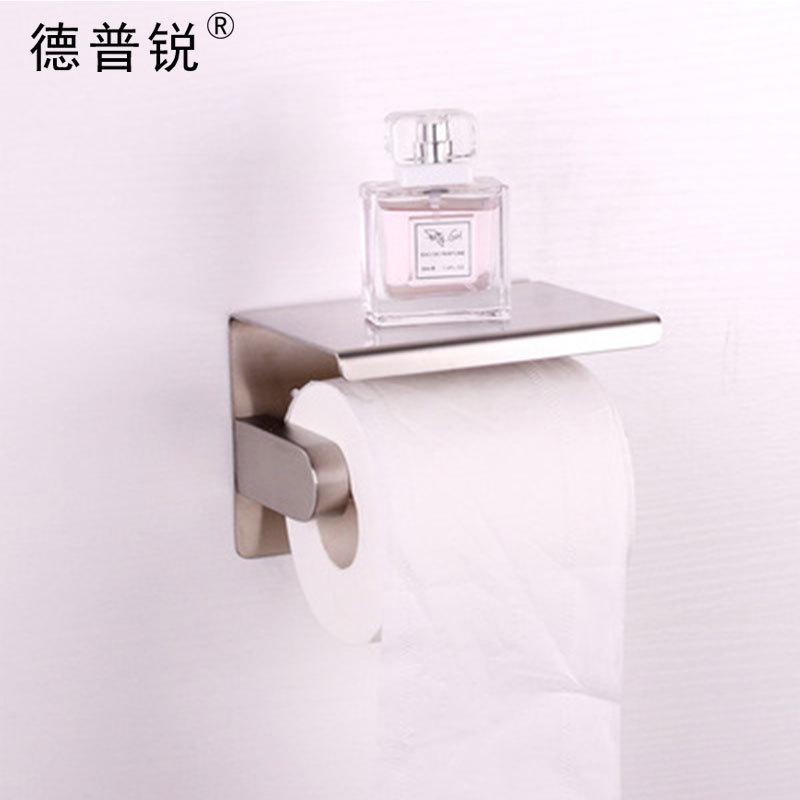 304镜光纸巾盒 镜光浴室卷纸架 家用不锈钢纸巾架 厨卫五金批发