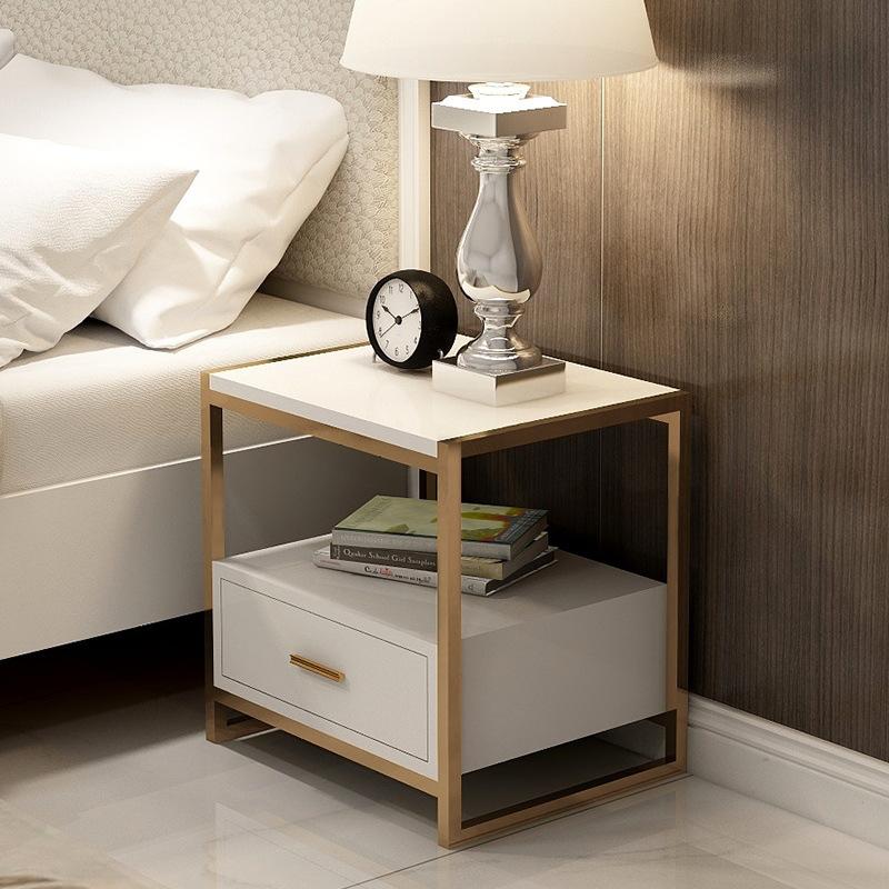 批发床头柜简约现代卧室床边小柜子轻奢床头桌迷你简易收纳储物柜
