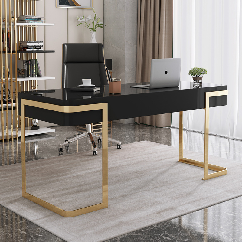 电脑桌书桌家用桌子书房简约家用小户型卧室办公桌梳妆台书桌一体