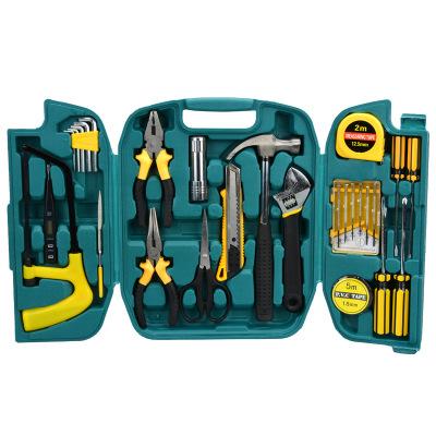 保险车险礼品积分兑换27件套五金组合工具箱支持来样定做工具盒