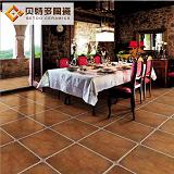 佛山仿古砖600圆角砖 欧式客厅美式地砖地中海田园风直角复古瓷砖