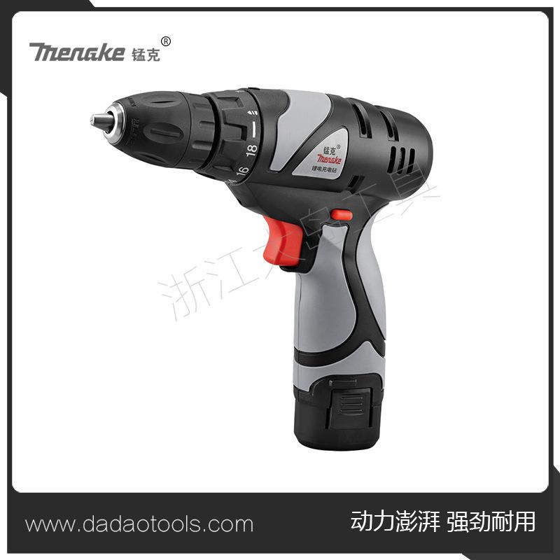 锂电钻单双速充电钻手枪电钻360多功能家用电动螺丝刀电起子6101