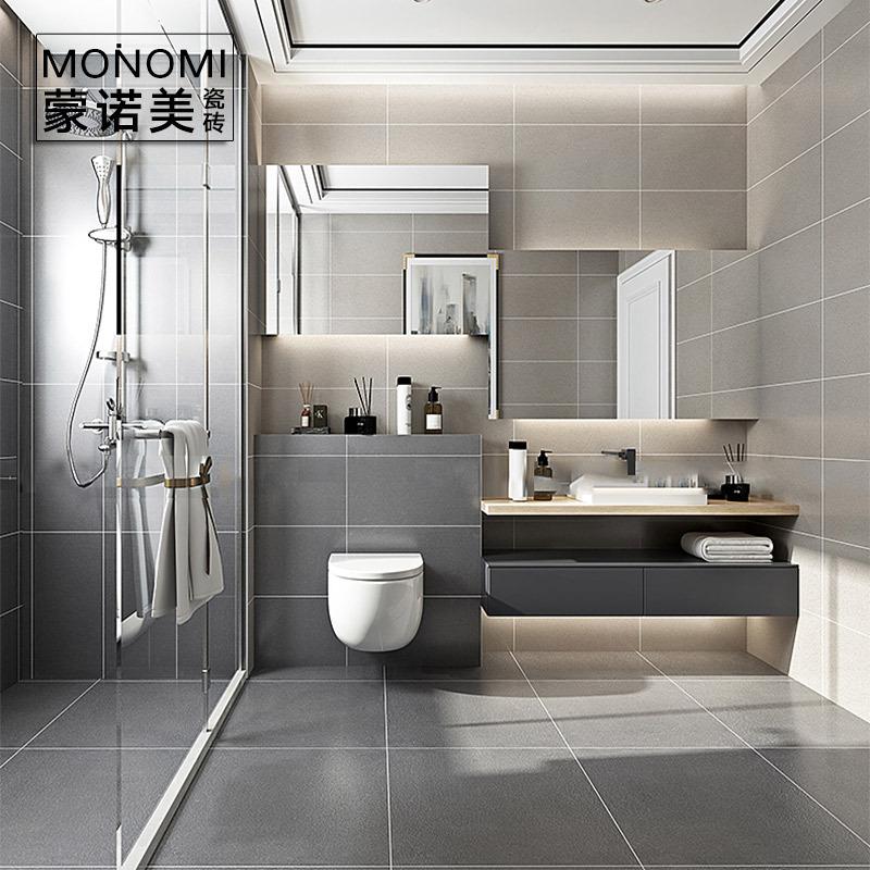 佛山瓷砖 通体砖仿古砖哑光防滑地板砖工程砖 阳台地砖卫生间瓷砖