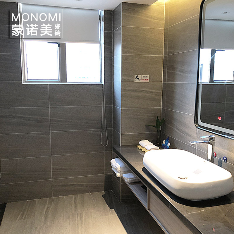 佛山瓷砖砂岩卫生间瓷砖地砖 厨房墙砖300x600浴室地板砖厕所瓷砖