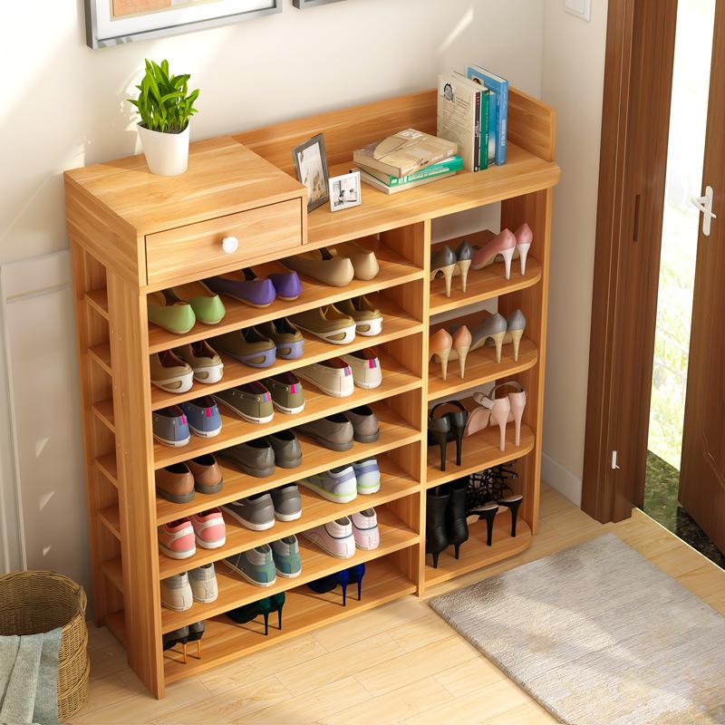 鞋架简易家用多层鞋柜经济型多功能家里人门口小鞋架子特价省空间