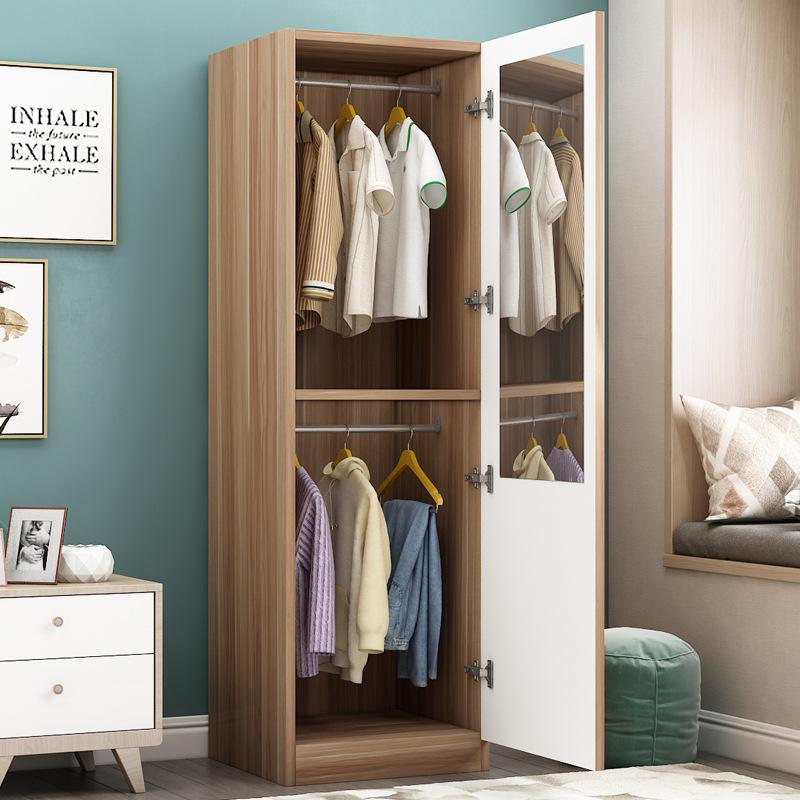 衣柜 穿衣镜衣柜 组合衣柜 收纳衣柜
