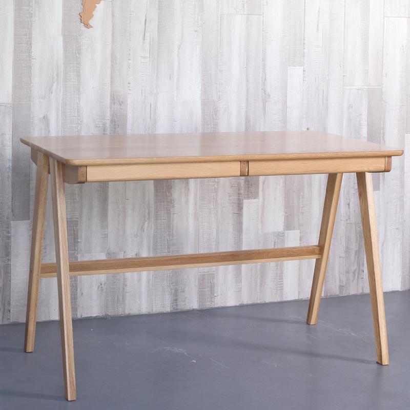 厂家直销简约实木书桌木质电脑桌办公书桌简约写字台书房家具
