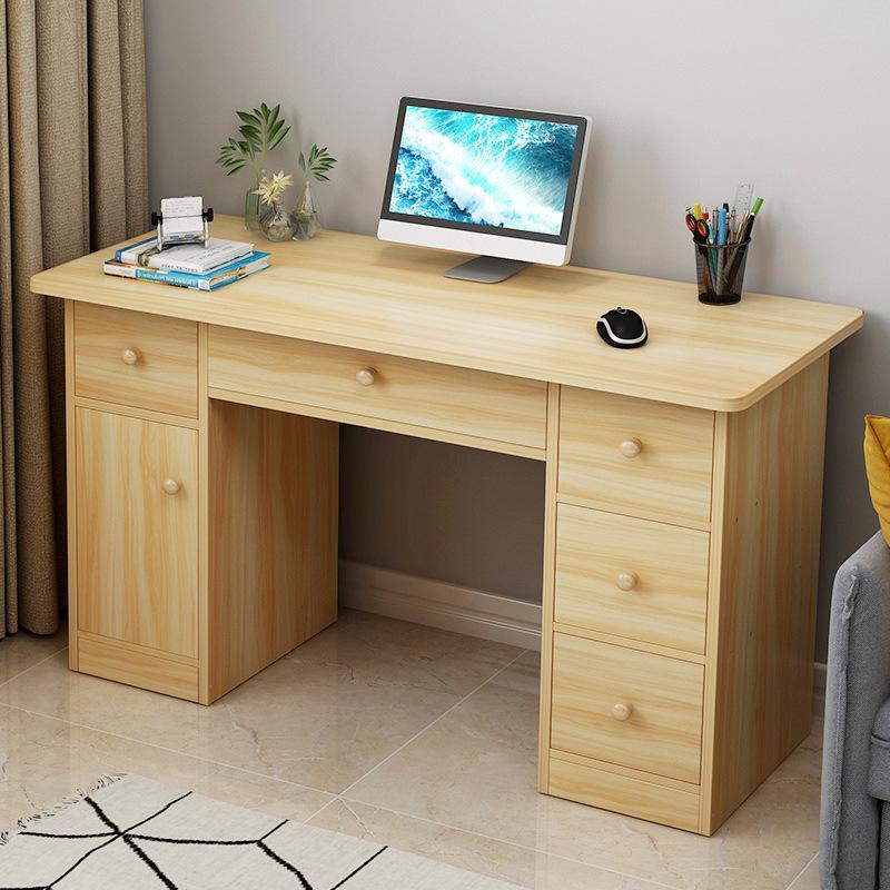 台式电脑桌家用经济型简约小书桌宿舍学生学习写字桌卧室办公桌子