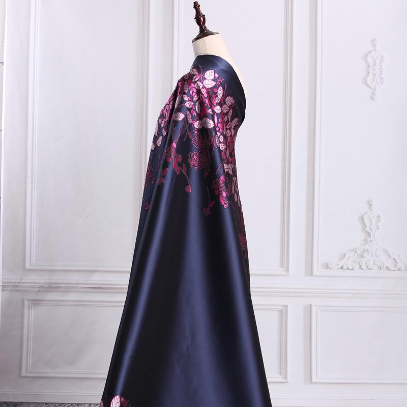高档提花布服装色织面料女装梭织时装窗帘布料名族风厂家直销批发