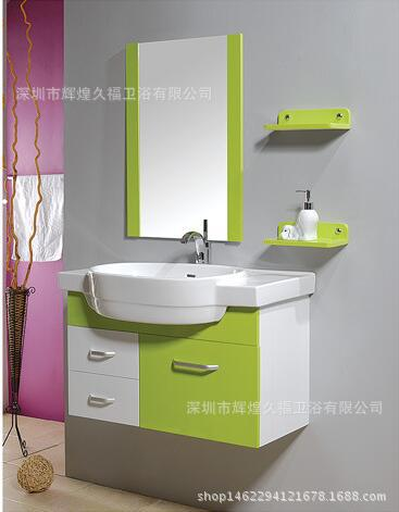 家用HHMSJ经典浴室柜梳妆台化妆台pvc80尺寸厕所卫生间多尺寸可选