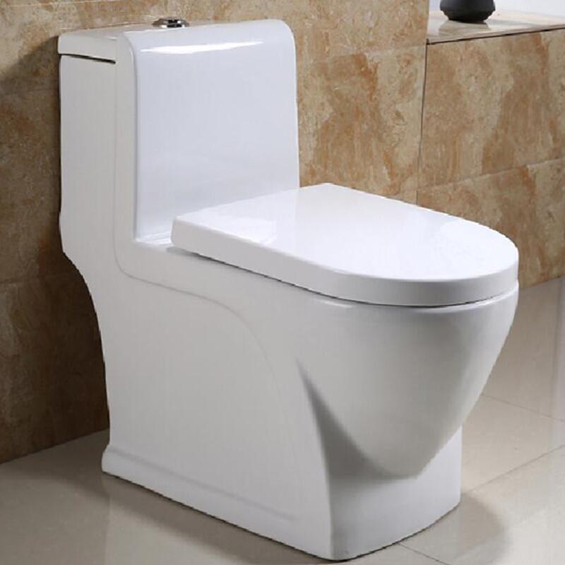 广东厂家工程马桶家用陶瓷抽水马桶卫浴洁具节水防臭坐便抽水马桶