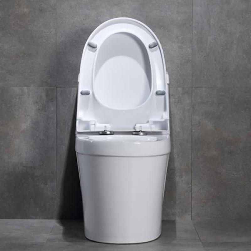 厂家直销新款北欧超漩普通马桶家用陶瓷座便器防臭静音抽水坐便器