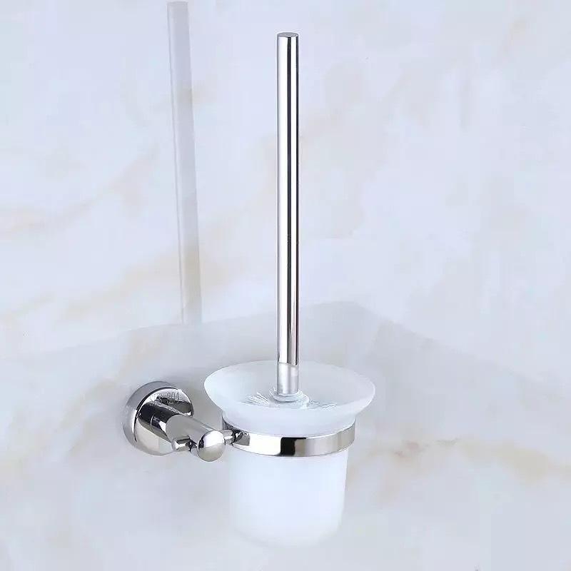 SUS304不锈钢马桶刷 厕刷架 厕所马桶刷架 卫生间五金挂件套装
