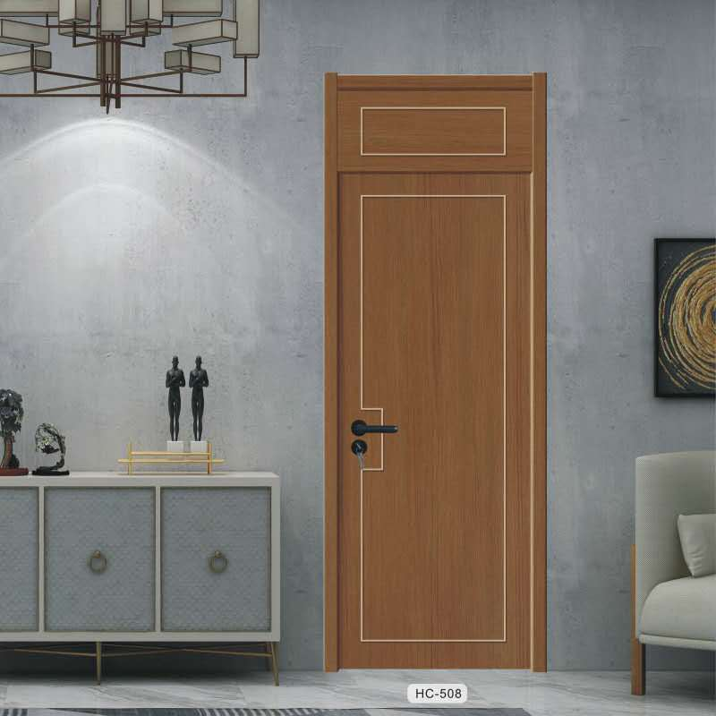 意式简约风免漆套装门 卧室静音生态木门 专供家装定制室内门