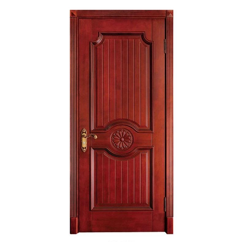 室内家装进户防盗门 室内实木雕花烤漆门 中式室内房间隔音门