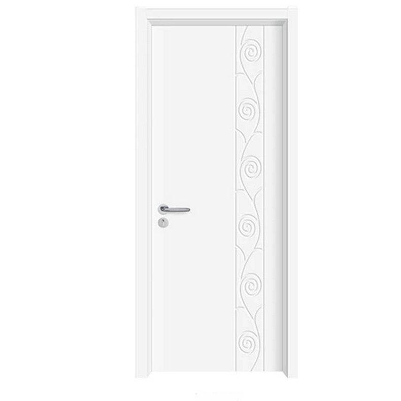 室内白色花纹防盗门 室内实木雕花烤漆门 中式酒店坚固隔音门