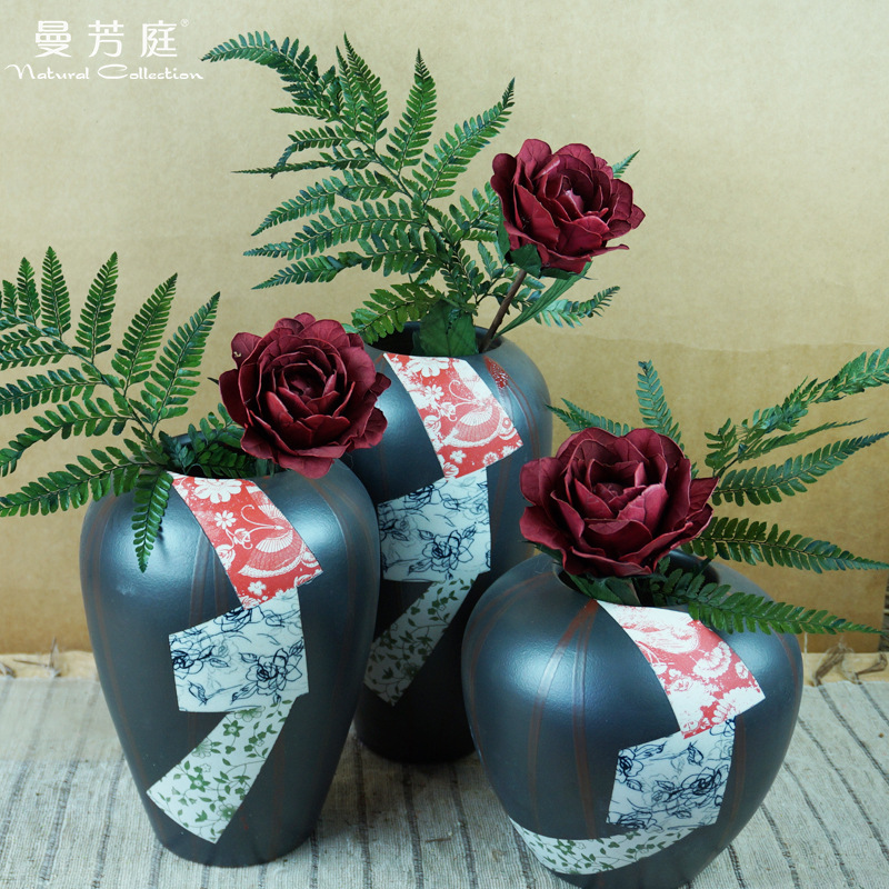 天然保鲜花永生花材 插花配材花艺搭配蕨叶干花花束装饰拍照道具