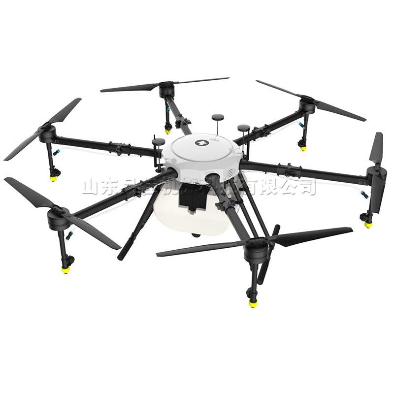 半自动农林撒药无人机 导航飞控药剂喷洒设备 植保无人驾驶飞机